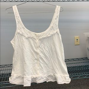Gilly Hicks white tank top